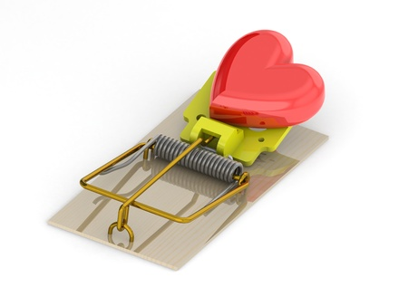 Mousetrap of love Stock Photo - 13403159