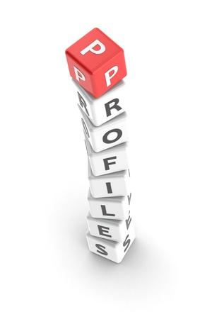 Profiles Stock Photo - 13660802