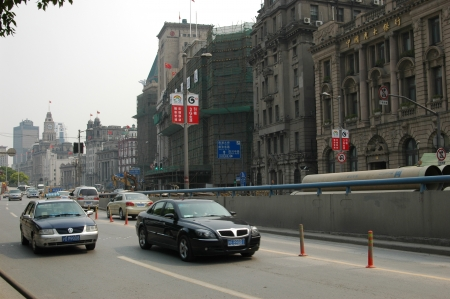 street view of Shanghai, China