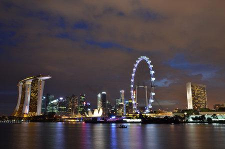 ravel: Singapore night scene
