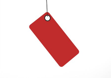 coat rack: Rectangular tag