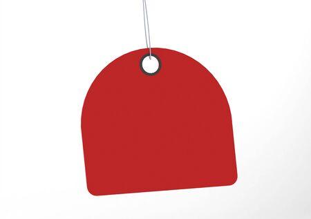coat rack: Label tag