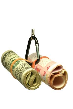 yuan: Hanging US dollar and China Yuan