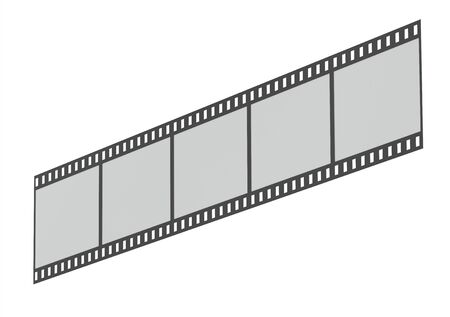 Film strip on an angle photo