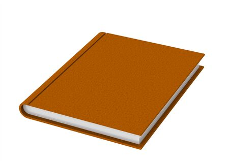 Orange book photo