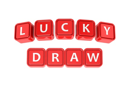 draw: Buzzword  Lucky draw