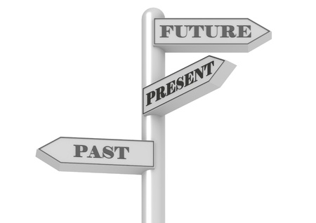 royalty free: Future Past Present