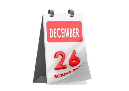 Calendar December 26 photo