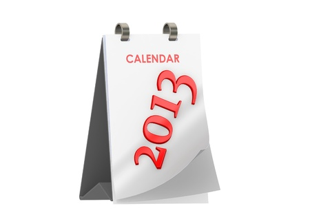 Calendar 2013 photo