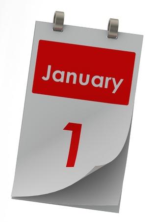 January 1 Stock Photo - 14185852