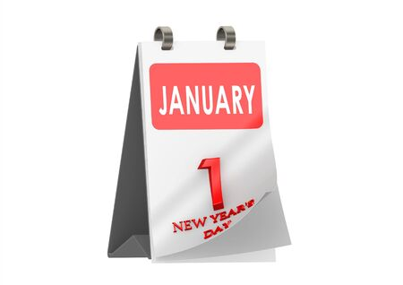 New Years Day Calendar  photo