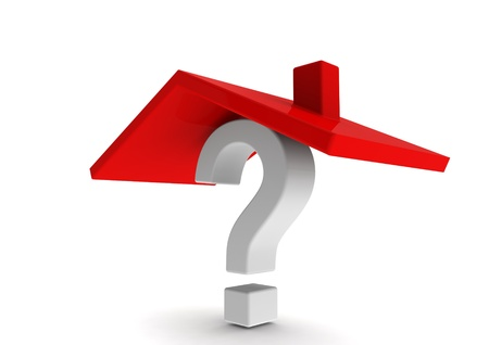 House and Question Stock Photo - 14235744
