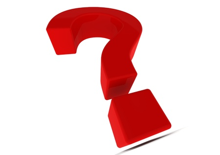 Red question mark Stock Photo - 14235759