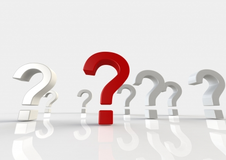 Question mark Stock Photo - 14284808