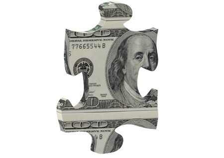 US dollar puzzle photo