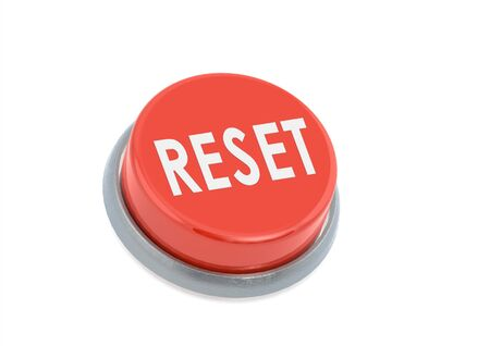 Red reset button photo