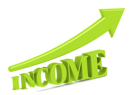 salary: Income increase