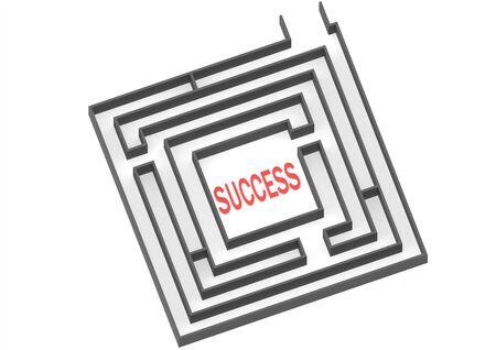 cut through the maze: Way to success