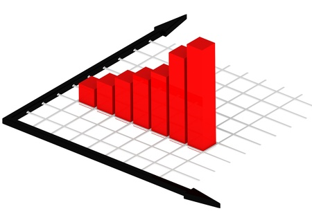 Bar chart Stock Photo - 14462448