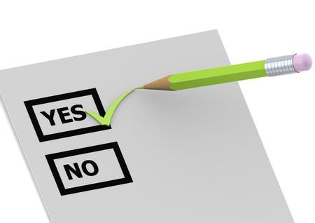 free vote: Say yes