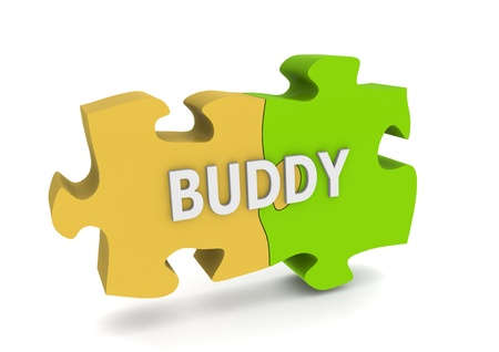 buddy: Buddy puzzle Stock Photo
