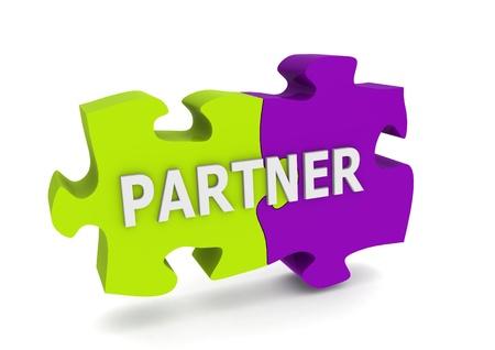Partner puzzle photo