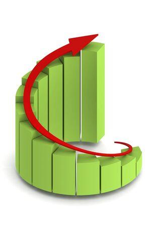 Graph Stock Photo - 14502795