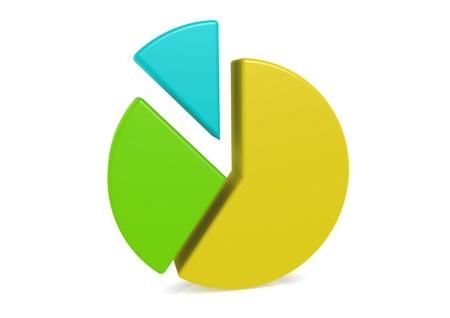 Pie Chart Stock Photo - 14556210