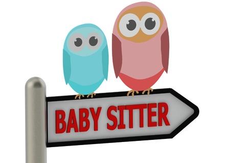 Baby sitter Stock Photo - 14585672