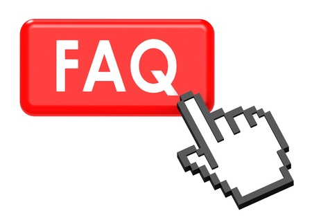 Frequently ask question Stock Photo - 14604730