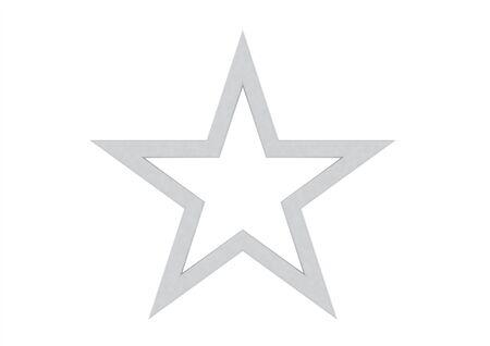 public celebratory event: Silver Star Stock Photo