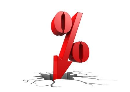 Discount percentage photo
