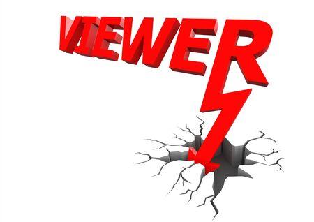 viewer: Viewer down