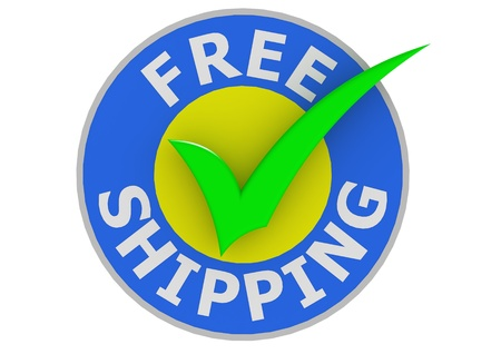 royalty free: Free shipping