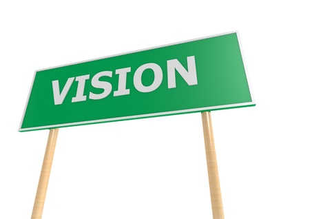 Vision Street Sign photo
