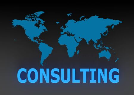 Consulting Services with World Knowledge Stock Photo - 14894658