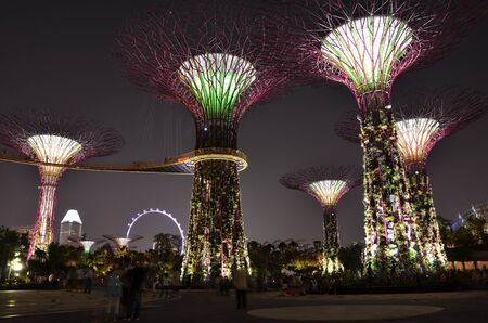 garden by the bay singapore stock photo picture and royalty free image image 14819678 - Garden By The Bay Fireworks