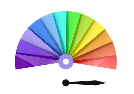 Color chart photo