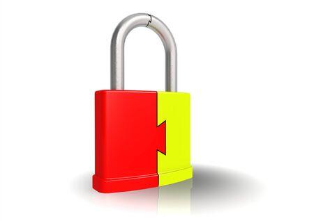 security safeguard Stock Photo - 15027085