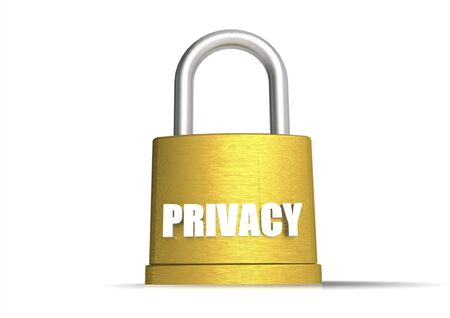 business metaphore: Privacy concept