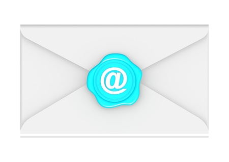 Envelope with seal Stock Photo - 15098179