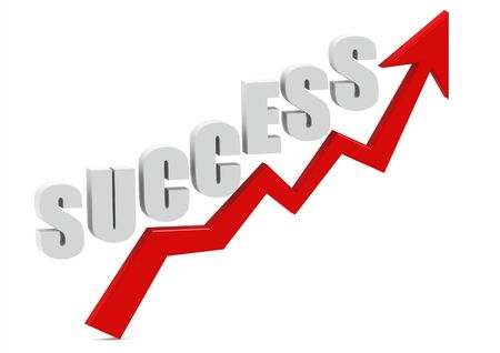 Success graph Stock Photo - 15098178