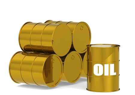 Golden Oil Drums photo