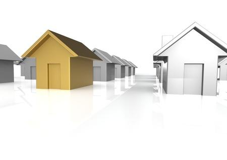Perfect house Stock Photo - 15429851