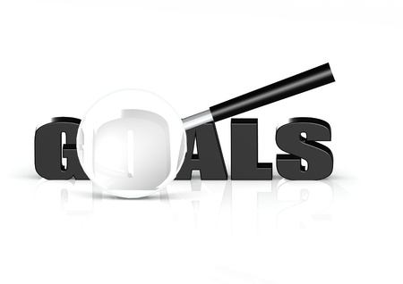 Goals searching Stock Photo - 15467793