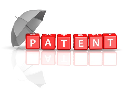 protection risks: Patent protection Stock Photo