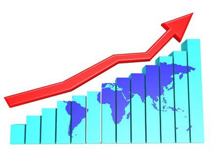 commissions: World upwards chart