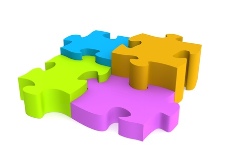 Colorful Pieces