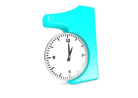 1 O clock Stock Photo - 16254833