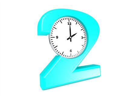 2 O clock Stock Photo - 16234729